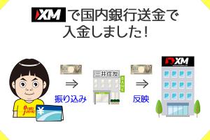 XMの国内銀行送金を画像付きで徹底解説!